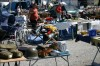 Flea market near Agde in Agde, France, photo by Inga