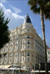 Carlton hotel in Cannes, France, photo by Inga