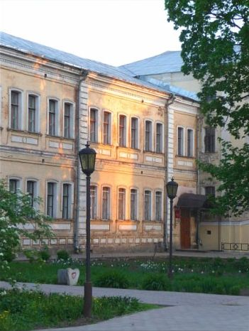 Tula State University in Tula, Russia, photo by Larisa Fedotova