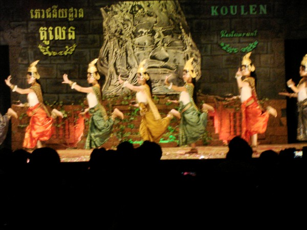 Cambodian Dancers Performing in Siem Reap in Siem Reap, Cambodia, photo by Stephen