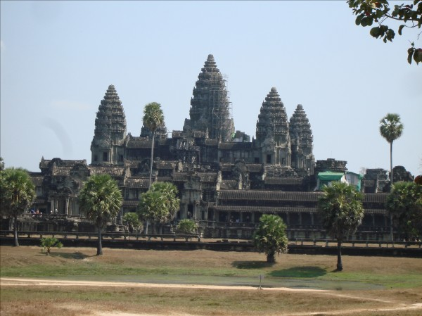 Angkor Wat Temple in Siem Reap, Cambodia, photo by Stephen