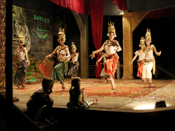 Cambodian Dancers in Siem Reap, Cambodia, photo by Stephen
