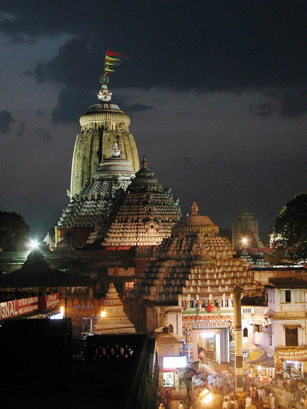 Jagannath Temple in Puri, India, photo by Mahesh Khilar